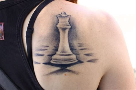 tattoo queen chess piece chess tattoo flickr photo sharing