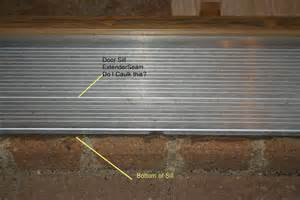 Exterior Door Sill Extension Wood Door Sill Is Rotted Building Construction Diy Chatroom Home Improvement Forum