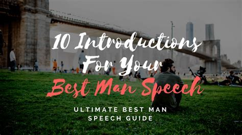 Best Man Speeches   Examples, One Liners, & Tips