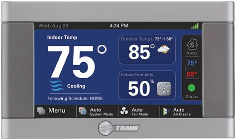 thermostats controls trane
