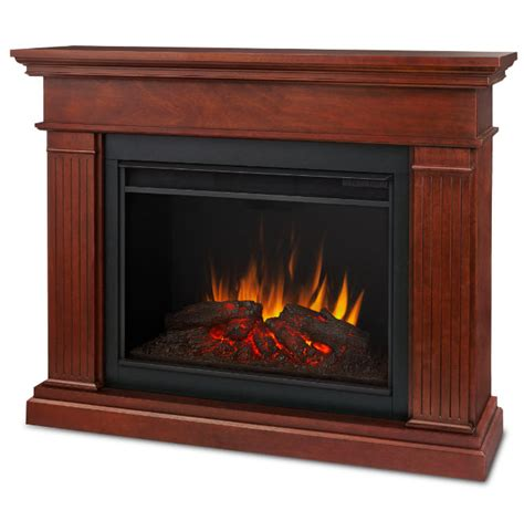 Electric Fireplace Espresso by 55 5 Quot Kennedy Grand Espresso Electric Fireplace