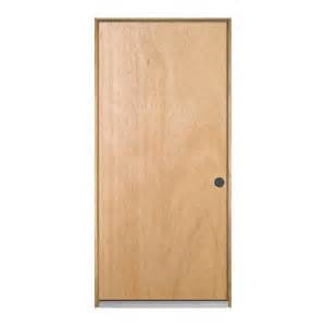 Home Depot Interior Wood Doors Jeld Wen Flush Unfinished Composite Wood Entry Door D47199