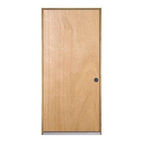Home Depot Wood Exterior Doors Jeld Wen Flush Unfinished Composite Wood Entry Door D47199 The Home Depot