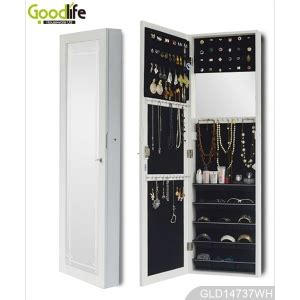 mirror jewelry armoire with mail order package