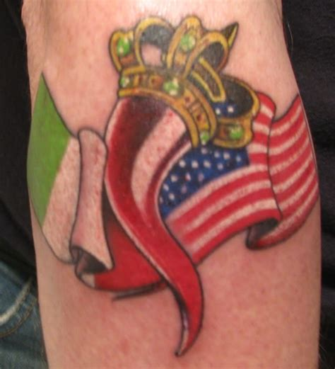 italian american tattoo designs american flag designs by itattooz