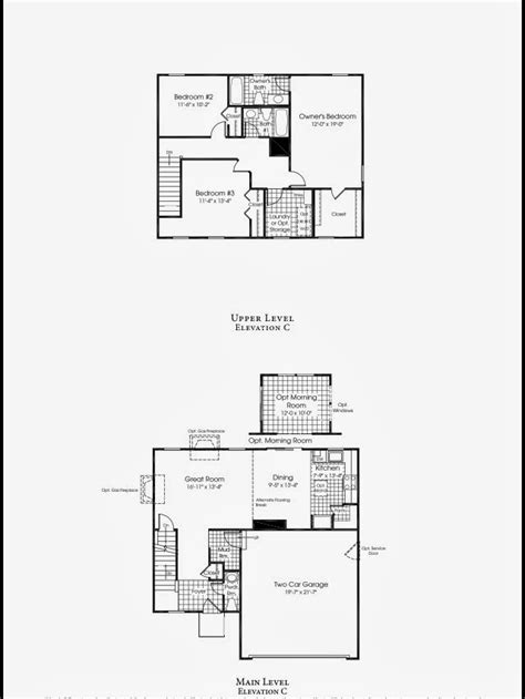 ryan homes genevieve floor plan ryan homes sienna floor plan ryan homes floor plans sienna
