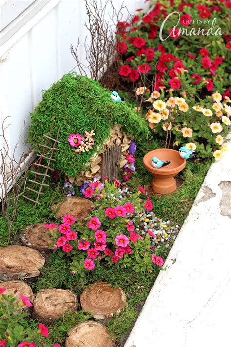 how to start a flower bed fairy garden how to start one of your very own