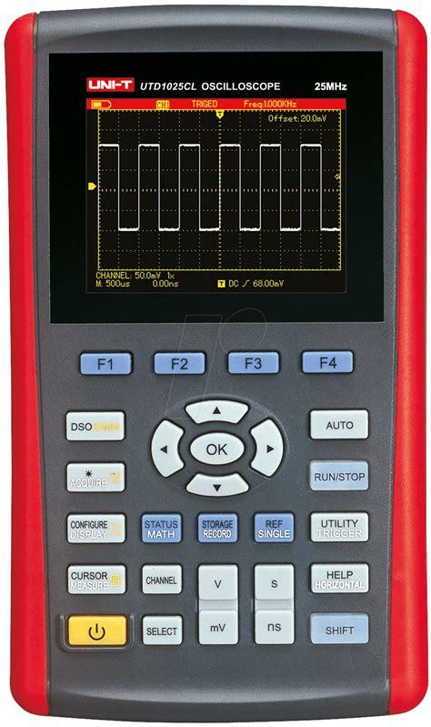 Multimeter Cl utd 1025 cl handheld oszilloskop 25 mhz 1 kanal