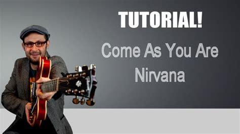 youtube tutorial nirvana come suonare come as you are nirvana lezione chitarra