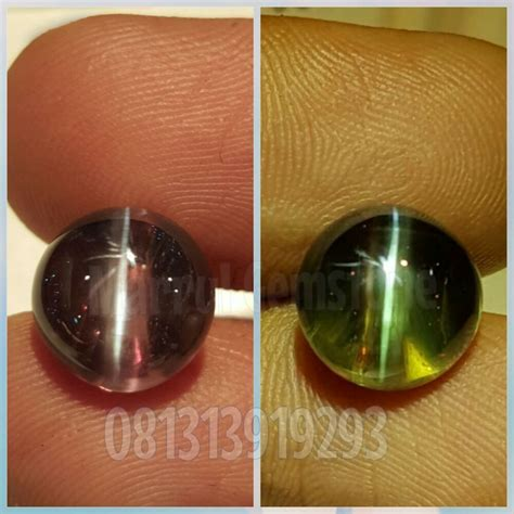 Alexandrite Cats Eye Chrysoberyl alexandrite chrysoberyl cats eye 6 73ct srilanka color