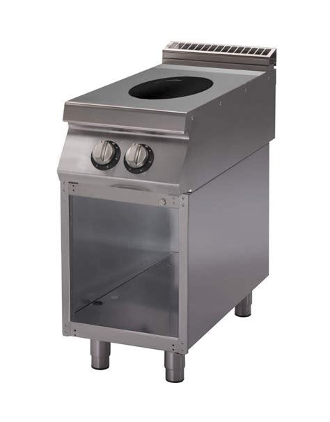 cucine a induzione professionali cucina wok ad induzione professionale cm 40x70x90h