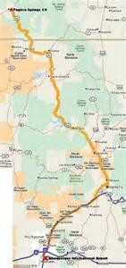 maps of pagosa springs southwest colorado four corners