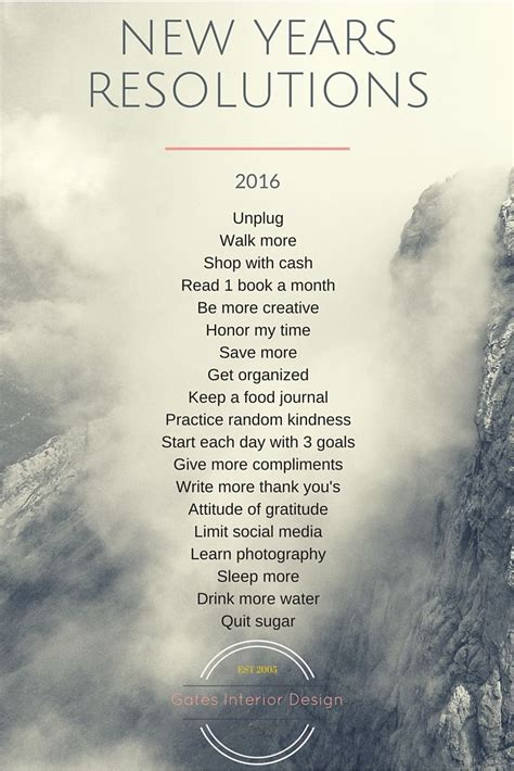 resolutions for the new year the 25 best new year s resolutions ideas on