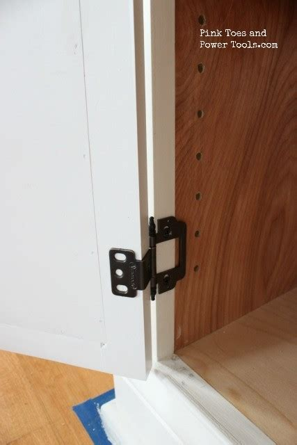 Dining Room/ Home Office {How to Install Inset Door Hinges
