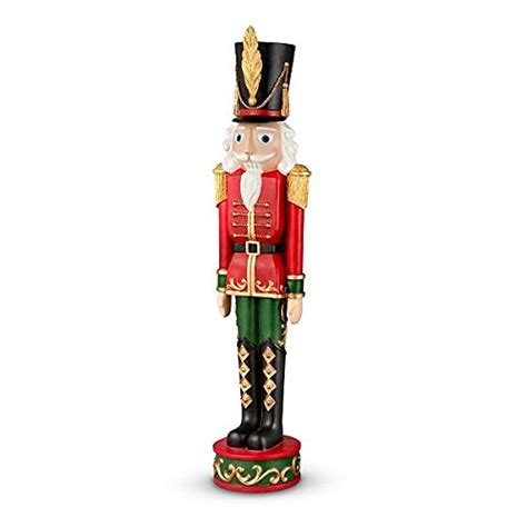set of 2 3 foot outdoor life like nutcracker toy soldier