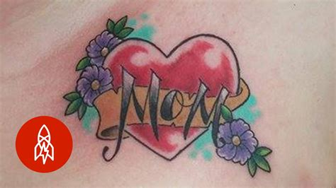 tattoo history youtube the heartfelt history of the i love mom tattoo youtube