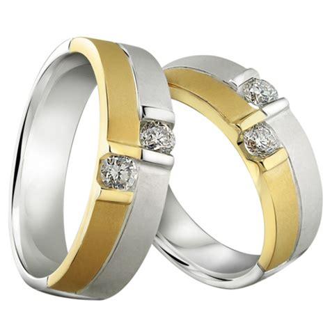 cincin kawin 4 cincin emas putih eksklusif dari orori