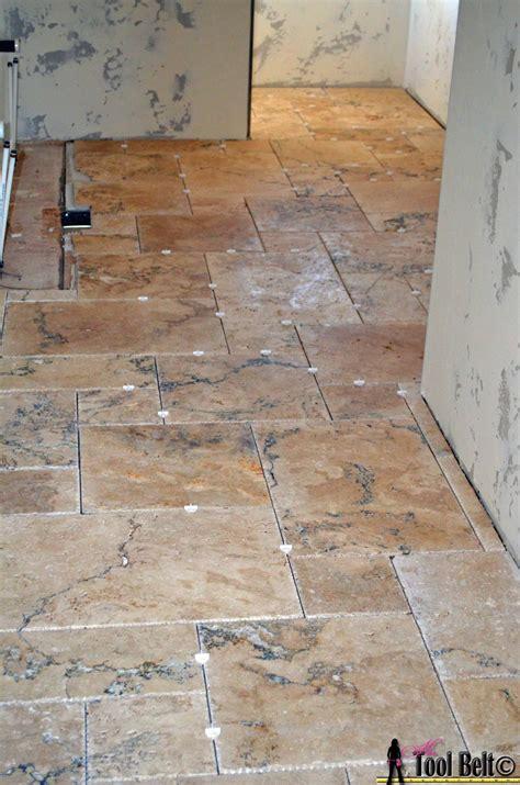 tile pattern versailles travertine versailles pattern tile tutorial her tool belt
