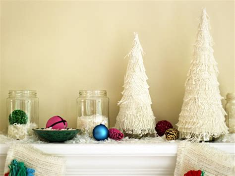 how to make a centerpiece how to make a fringed christmas tree centerpiece how tos