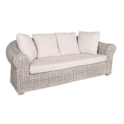 divano rattan bianco divano shabby rattan bianco etnico outlet mobili etnici
