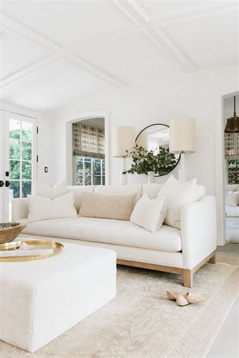 new living room sofa erin spain cozy california farmhouse style home decor inspiration