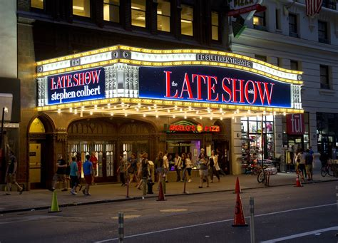 the late show stephen colbert s late show and the late night wars who s ahead fortune