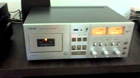 teac cassette deck cassette deck teac a 650