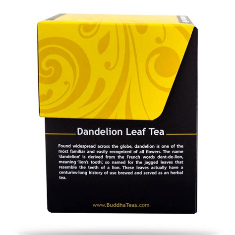 buy dandelion leaf tea bags enjoy health benefits of
