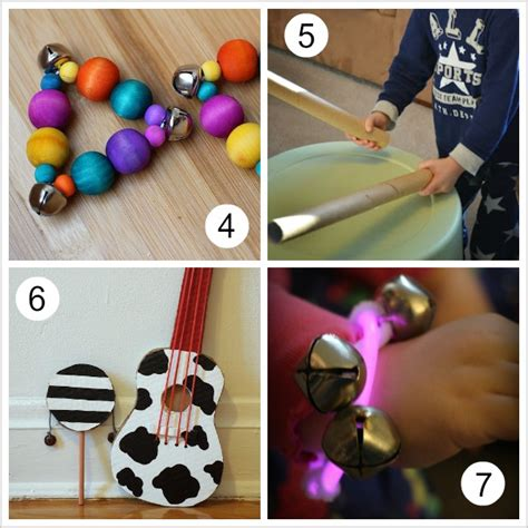 Handmade Musical Instruments - 10 musical instruments for buggy and buddy