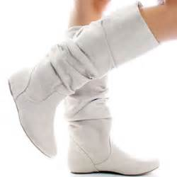 womans white boots white boots for 31
