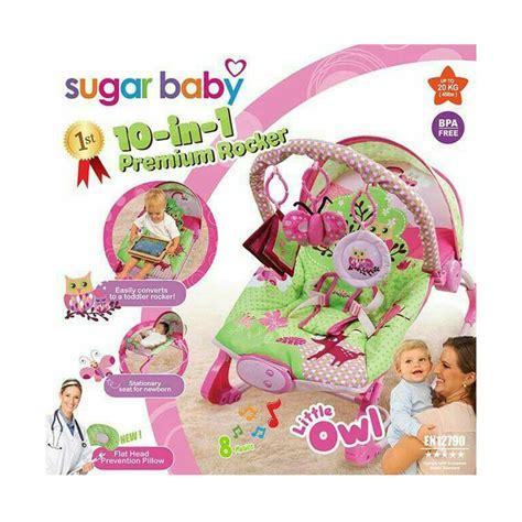 Sugar Baby Rocker Owl jual sugar baby bouncer premium rocker owl 10 in 1