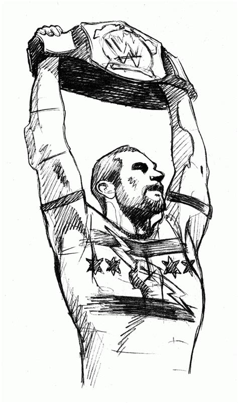 wwe coloring pages cm punk coloring home