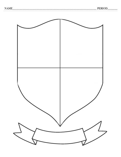 coat of arms template and exles wittensteinworld