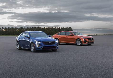 New Cadillac Sedans For 2020 by Cadillac Unveils New 2020 Ct4 V Ct5 V Sedans