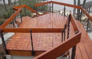 Home Depot Patio Bench Decks Com Cable Deck Railings