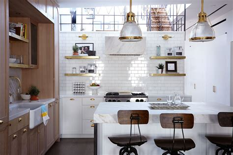 home design new york style tiled kitchen walls are the latest home design trend