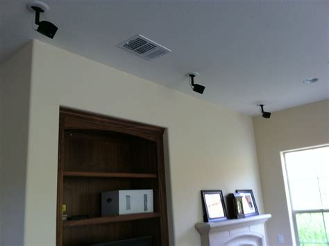 Ceiling Mounted Speakers Bose by Speaker Installation Mw Home Entertainment Wiring