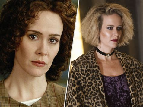 American Horror Story Sweepstakes Winner - sarah paulson on dual filming american horror story hotel american crime story