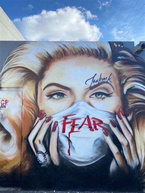 street art  real  coronavirus barnorama