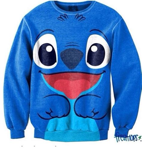 stitch sweater freshtops disney