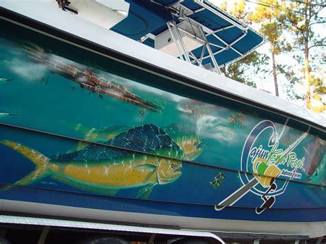 graphics on boat custom graphics vinyl wraps boat wraps florida