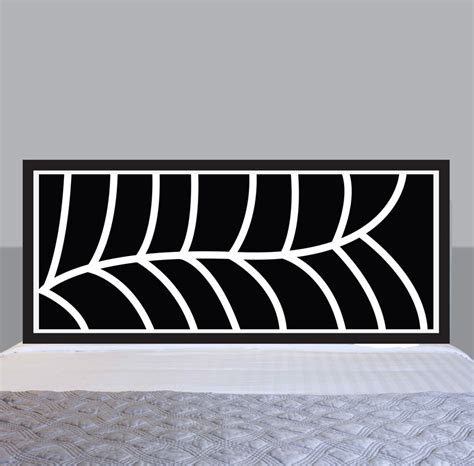headboard sticker sticker headboard decals 28 images leaf headboard