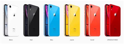 pourquoi l iphone xr va t il se vendre comme des petits pains tech numerama