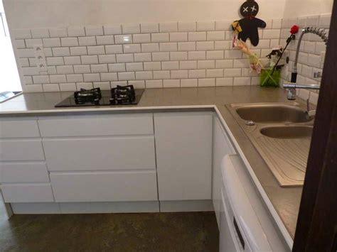 meuble avec plan de travail cuisine indogate cuisine pas cher