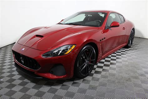 maserati spa interior 2018 maserati granturismo mc 4 7l coupe in minnetonka