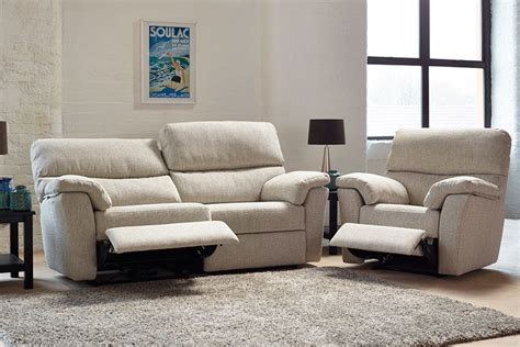 Hamilton Fabric Fixed Reclining Sofa Reclining Sofa Uk