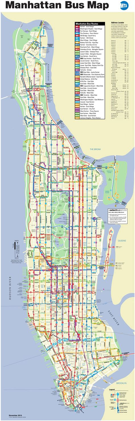 map of manhattan new york city manhattan map