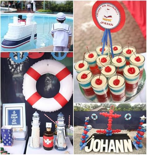 party themes on a boat 78 best images about nautical theme 1st birthday on