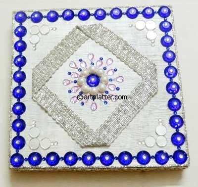 decorative diya and thali set decorative diya and thali set the handmade crafts