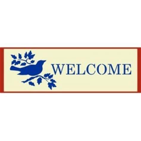 welcome sign template welcome sign template home sign stencils stencil templates